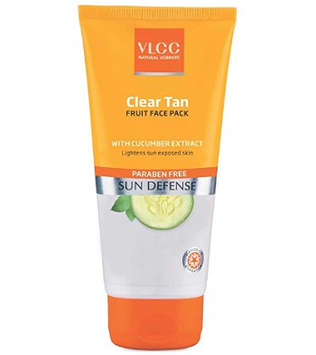 VLCC Clear Tan Fruits Face Pack