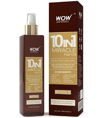WOW 10 in1 Miracle Hair Oil