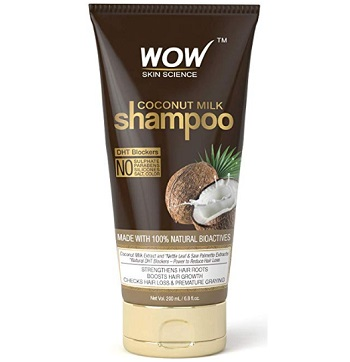 Wow Skin Science Coconut Milk Shampoo