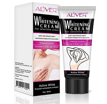 Aliver Whitening Dark Skin Lightening Cream