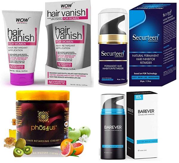 10 Best Hair Retarder Or Hair Inhibitor Creams In India