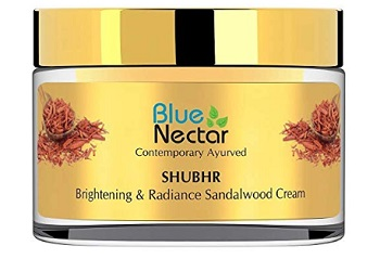 Blue Nectar Ayurvedic Brightening Cream and Lightening Cream