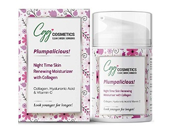 CGG Collagen, Hyaluronic Acid and Vitamin C Night Time Skin Moisturizer