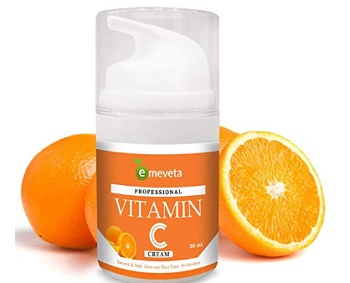 EMEVETA Vitamin C Face Cream with Aloe vera Vitamin C