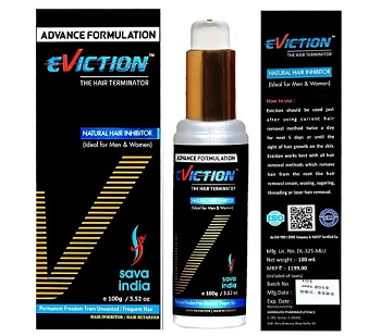 Eviction Natural and Permanent Hair Inhibitor
