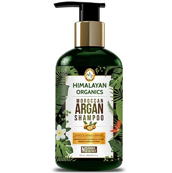 Himalayan Organics Moroccan Argan Oil Shampoo for Hair Growth