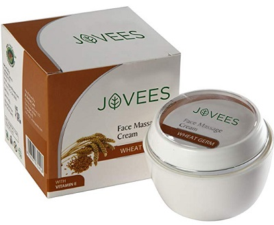 Jovees Wheatgerm With Vitamin E Face Massage Cream