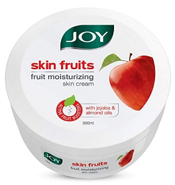 Joy Skin Fruits Fruit Moisturizing Skin Cream With Jojoba and Almond Oil