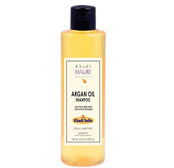 Khadi Mauri Herbal Argan Oil Shampoo