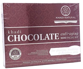 Khadi Natural Chocolate Anti -Aging Mini Facial Kit