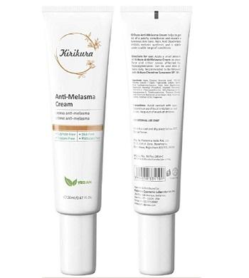 Kirikura Anti Melasma Cream with kojic acid