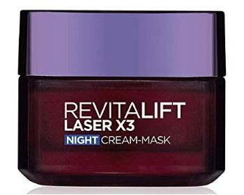 L'Oreal Paris Revitalift Laser X3 Night Cream Mask