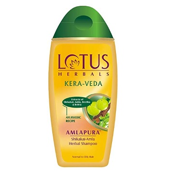 Lotus Herbal Amlapura Shikakai Amla Herbal Shampoo