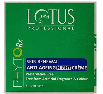 Lotus Professional Phyto Rx Skin Renewal Anti Ageing Night Cream