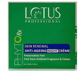 Lotus Professional Phyto Rx Skin Renewal Anti Ageing Night Cream