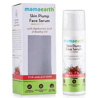 Mamaearth Skin Plump Face Serum Anti Aging Cream