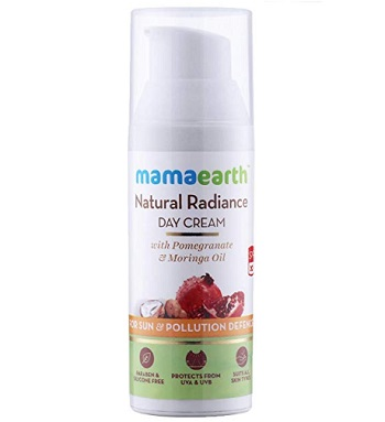 Mamaearth Whitening and Tightening Day Face Cream