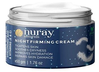 Nuray Naturals Vegan Night Cream