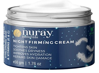 Nuray Naturals Vegan Night Cream
