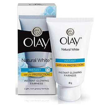 Olay Natural White Light Instant Glowing Fairness Cream