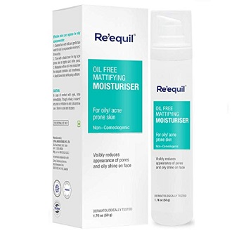 RE' EQUIL Oil Free Mattifying Moisturiser