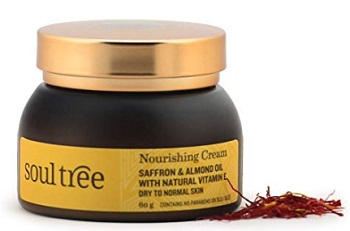 SoulTree Saffron & Almond Oil Nourishing Cream