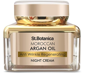 StBotanica Moroccan Argan Oil Anti Wrinkle Regenerating Night Cream