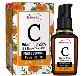 StBotanica Vitamin C 20% Vitamin E and Hyaluronic Acid Facial Serum