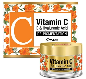 StBotanica Vitamin C, E & Hyaluronic Acid DePigmentation Cream