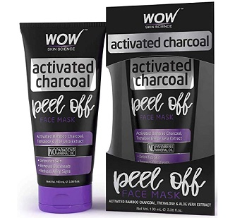 WOW Activated Charcoal Face Mask