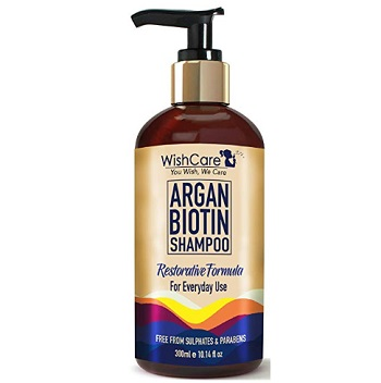 WishCare Argan Oil Biotin Shampoo