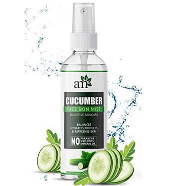 AromaMusk Fresh Cucumber Pore Refining Face Mist Toner