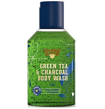 Beardhood Green Tea & Charcoal Body Wash For Men