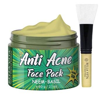 Bella Vita Organic Anti Acne, Pimple & Skin Tightening Face Pack