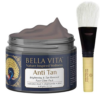 Bella Vita Organic De Tan Removal Face Pack