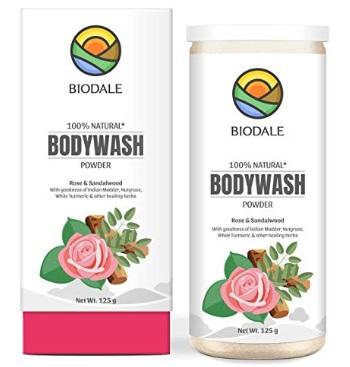 Biodale 100% Natural Body Wash Powder