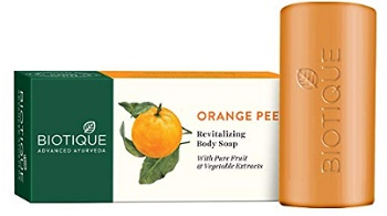 Biotique Bio Orange Peel Revitalizing Body Soap