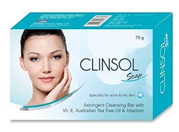 Clinsol Soap For Oily Skin