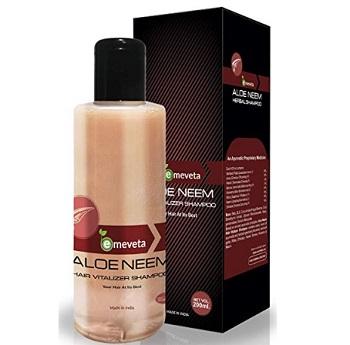 Emeveta 100% Herbal Aloe Vera Neem Shampoo for Hair Growth