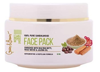 Green & Brown 7 in 1 Natural Face Pack