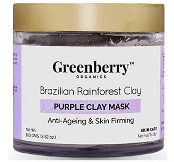Greenberry Organics Brazilian Rainforest Purple Mask