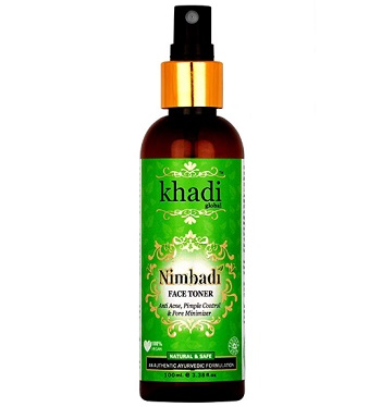 Khadi Global Nimbadi Anti Acne Pimple Control and Pore Minimizer Face Toner