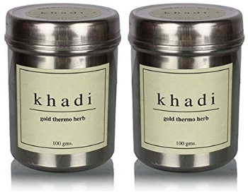 Khadi Gold Thermo Herb Skin Tightening Face Pack
