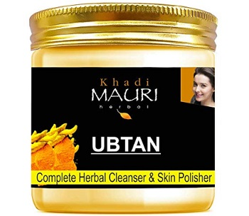 Khadi Mauri Herbal Ubtan Pack for Skin Lightening & Tan Removal