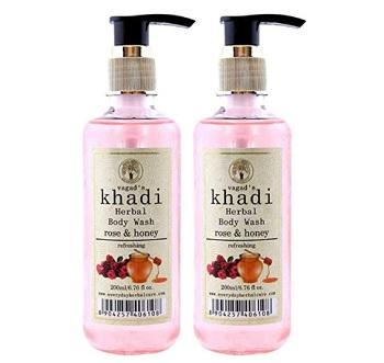 Khadi Rose And Honey Body Wash