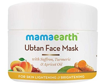Mamaearth Ubtan Face Pack Mask for Tightening and Glow