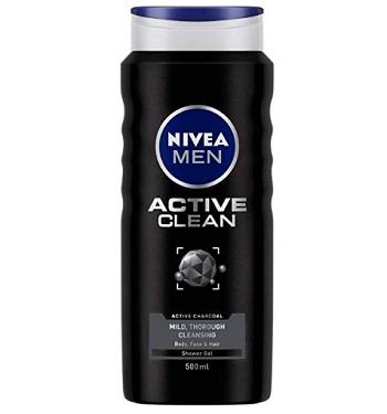 NIVEA Active Clean Body Wash