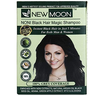 New Moon Noni Natural Black Hair Dye Color