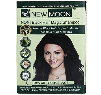New Moon Noni Natural Black Hair Dye Color