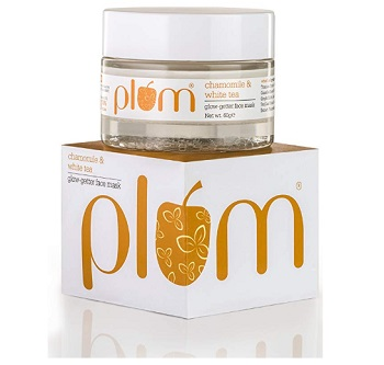 Plum Chamomile and White Tea Glow Getter Face Mask
